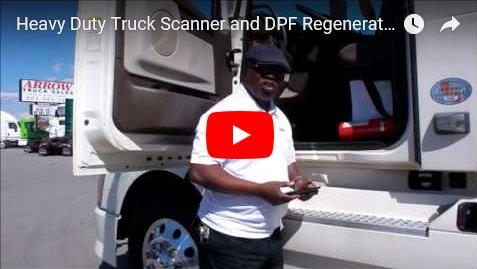 DPF Truck Engine Regeneration Code Reader Filter Clean Delete Removal